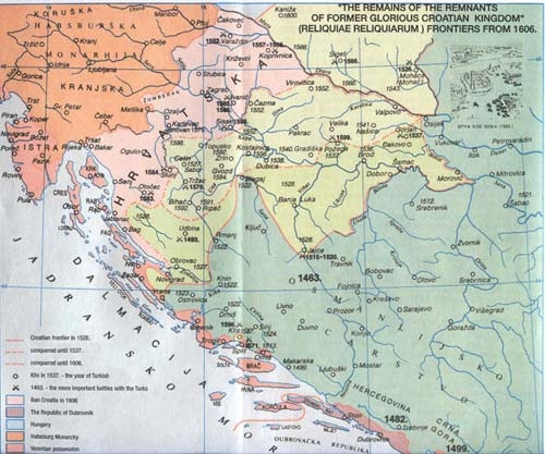 THE REMAINS OF THE REMNANTS OF FORMER GLORIOUS CROATIAN KINGDOM - 1606