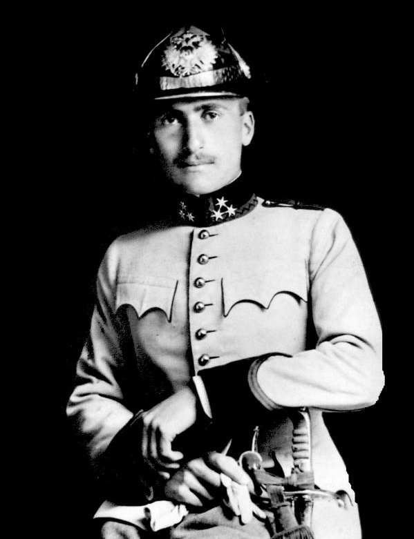 MARCEL KIEPACH IN HIS OFFICER'S UNIFORM OF THE AUSTRO-HUNGARIAN ARMY, 1914 - 1915 - MARCEL KIEPACH (FEBRUARY 12, 1894 - AUGUST 12, 1915) WAS A CROATIAN INVENTOR. THE WORKS AND INVENTIONS OF THIS CHILD PRODIGY BELONG TO THE AREAS OF ELECTRONICS, MAGNETISM, ACOUSTICS, TRANSMISSION OF SOUND SIGNALS, AND TRANSFORMERS.