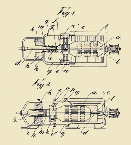 OUTLINE AND DRAWINGS FOR ILLUMINATION DYNAMO INVENTED AND PATENTED BY MARCEL KIEPACH