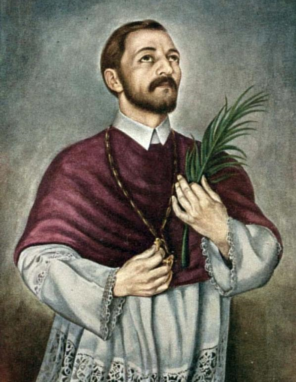 SV MARKO KRIZIN (MARKO STJEPAN KRIZIN) OR SV MARKO KRIŽEVČANIN (1589, KRIŽEVCI – SEPTEMBER 7, 1619, KOŠICE) IS THE THIRD CANONIZED CROATIAN SAINT OF THE ROMAN CATHOLIC CHURCH, PRIEST, MARTYR OF KOŠICE, PROFESSOR OF THEOLOGY, MISSIONARY.