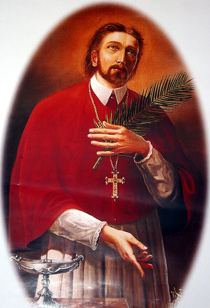 SV MARKO KRIZIN OR SV MARKO KRIŽEVČANIN (1589, KRIŽEVCI – SEPTEMBER 7, 1619, KOŠICE) IS THE THIRD CANONIZED CROATIAN SAINT OF THE ROMAN CATHOLIC CHURCH, PRIEST, MARTYR OF KOŠICE, PROFESSOR OF THEOLOGY, MISSIONARY.