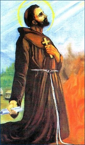 NIKOLA TAVELIĆ (C. 1340 – NOVEMBER 14, 1391) IS A SAINT OF THE CATHOLIC CHURCH. THIS FRANCISCAN MISSIONARY, WHO DIED A MARTYR'S DEATH IN JERUSALEM, WAS THE FIRST CROATIAN SAINT.