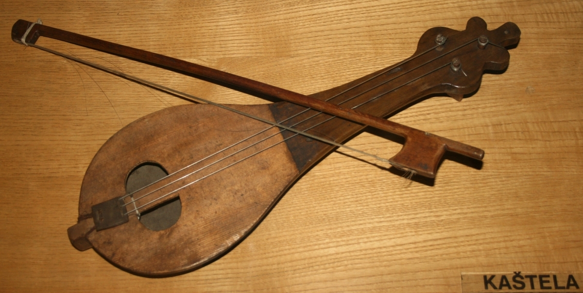 LIRICA - DALMACIJAC - THE LIJERICA (CROATIAN PRONUNCIATION: [LIJƐRITSA]) IS A MUSICAL INSTRUMENT FROM HERCEGOVINA AND THE CROATIAN REGION OF DALMATIA. IT IS A PEAR-SHAPED, THREE-STRINGED INSTRUMENT WHICH IS PLAYED WITH A BOW. IT IS PLAYED TO ACCOMPANY THE TRADITIONAL LINĐO DANCE FROM THE REGION. THE LIJERICA'S NAME COMES FROM THE LYRA (GREEK: ΛΎΡΑ), THE BOWED INSTRUMENT OF THE BYZANTINE EMPIRE WHICH IT PROBABLY EVOLVED FROM.  WHILE THE LIJERICA IS MOST OFTEN ASSOCIATED WITH TRADITIONAL FOLK MUSIC, IT IS STILL FOUND IN MODERN MUSIC FROM THE REGION. ONE ARTIST WHO IS NOTABLE FOR HIS USE OF THE INSTRUMENT IS MATE BULIĆ.