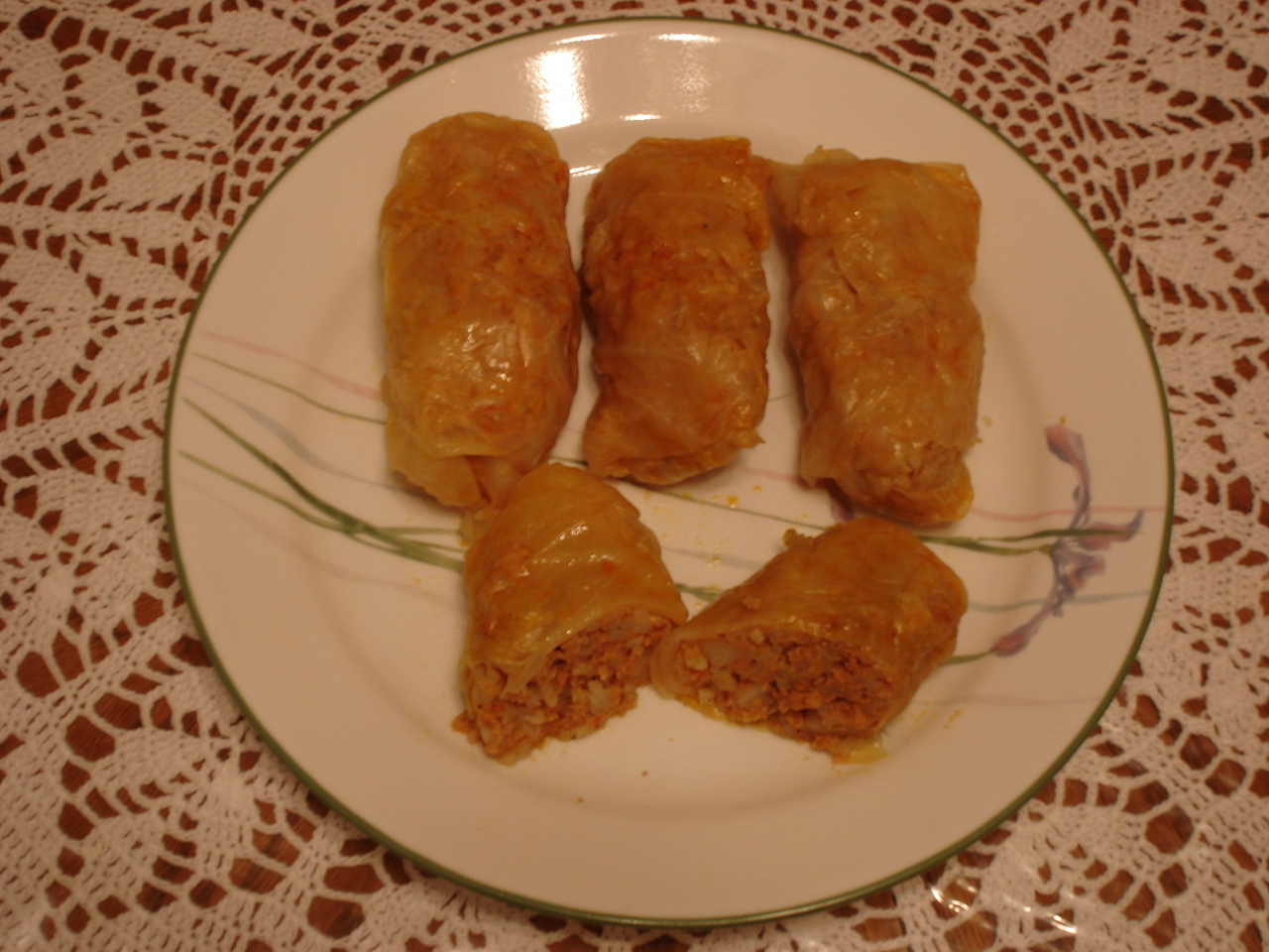 SARMA FROM DALMATIA (RECIPE FOR STUFFED CABBAGE ROLLS)