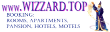 Banner Wizzard.TOP - Wizzard.Top - Room / Apartment / Villa / Pansion / Hotel / Motel booking