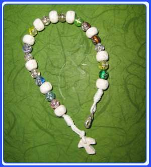 RB-0111 Rock Bracelet of Mary Mother of God