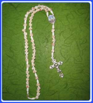 RR-0107 Rock Rosary of Mary Mother of God
