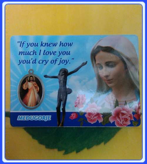PC-EN_x03 Prayer cards Medjugorje Prayer Card - English